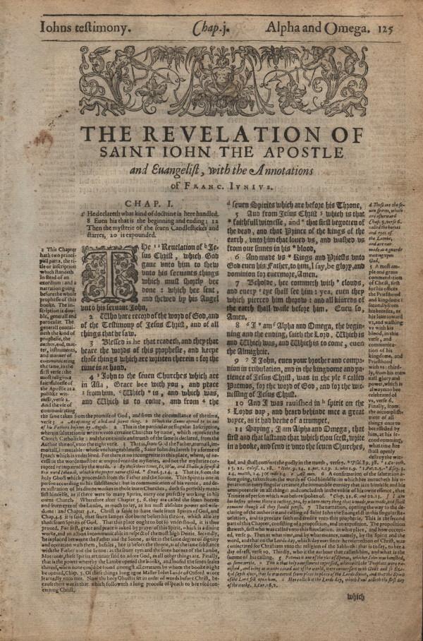 Geneva - 1616 - REVELATION 1:1-2:13