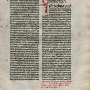 Biblia Sacra – 1480 – RUTH 1-3 Title