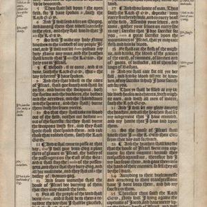 King James – 1611 – EZEKIEL 39-40