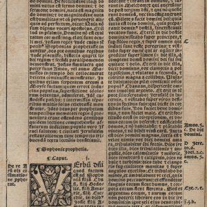 Biblia Sacra - 1531 - ZEPHANIAH 1-3