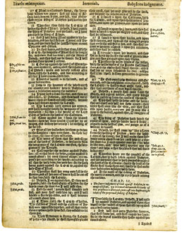 King James – 1625 – Old Testamant