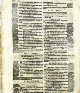 Geneva – 1595 – Old Testament