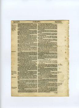 King James - 1625 - Apocrypha