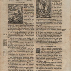 La Sainte Bible – 1581 – REVELATION 1-2 plus JUDE (all)